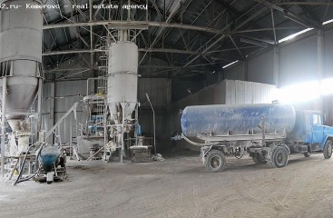 Automation of mixing site for the ash-concrete production line -