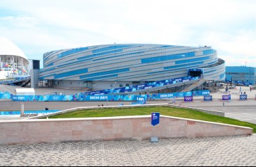 Ice Arena SOCHI. Olympic venue in 2014   -
